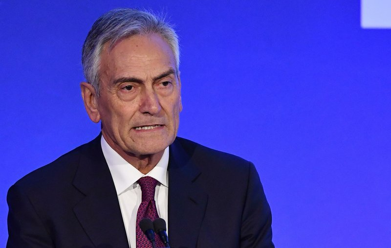 Gravina, nuevo presidente del fútbol italiano