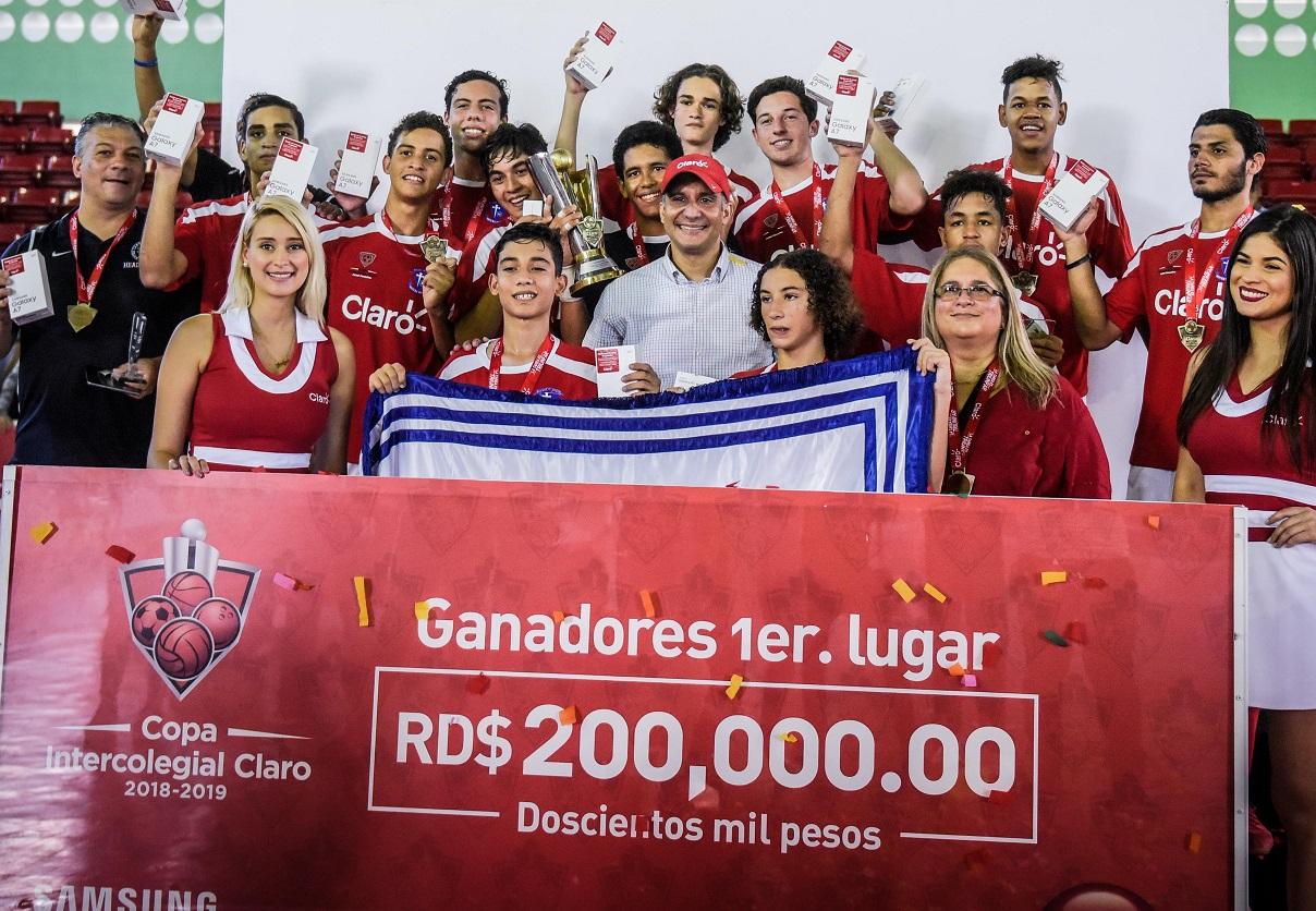 Notre Dame se coronó campeón de la Copa Intercolegial Claro de Futsal