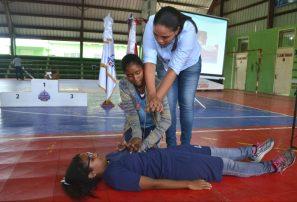 Inefi realiza capacitación simultánea voluntarios Juegos Nacionales