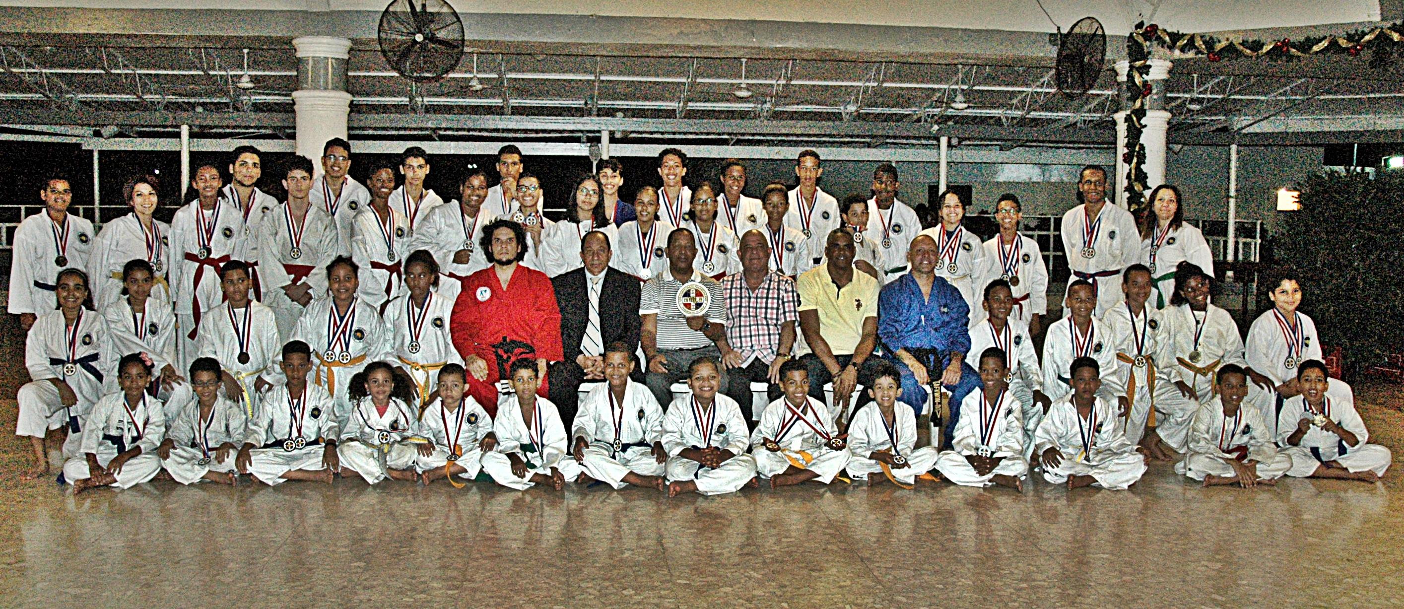 Club Los Prados gana torneo internacional de taekwondo