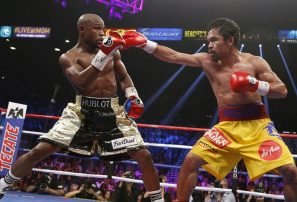 Manny Pacquiao dice que habrá revancha ante Floyd Mayweather