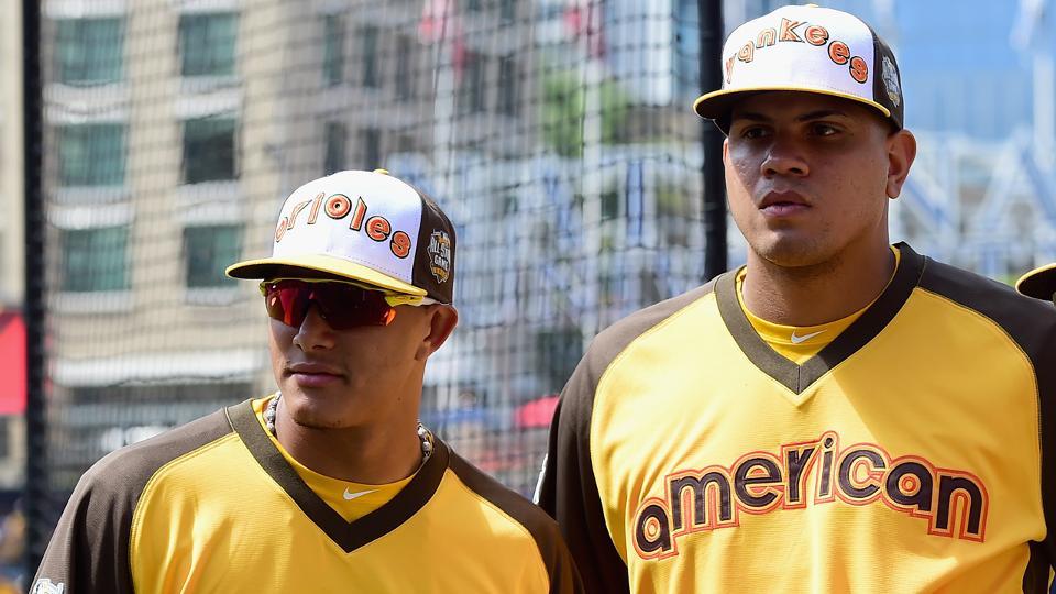 A Dellin Betances le gustaría ver a Manny Machado en los Yankees