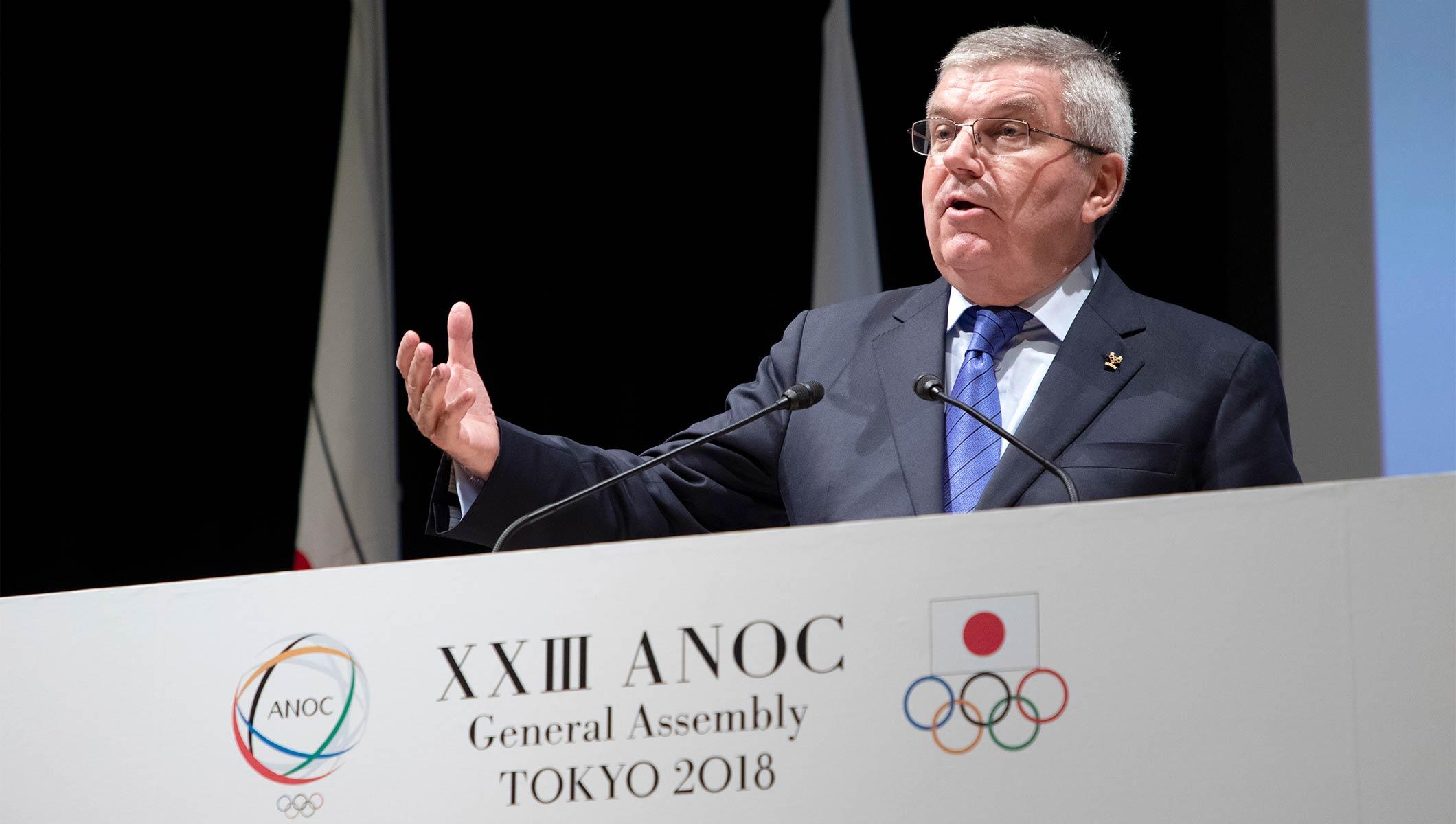 Presidente Thomas Bach llama a Movimiento Olímpico a unirse por los valores deportivos