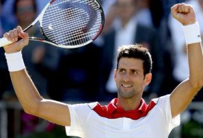 Novak Djokovic con un debut sin fisuras en finales ATP de Londres