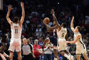 Canasto de Williams, Clippers superan en tiempo extra a los Bucks en la NBA