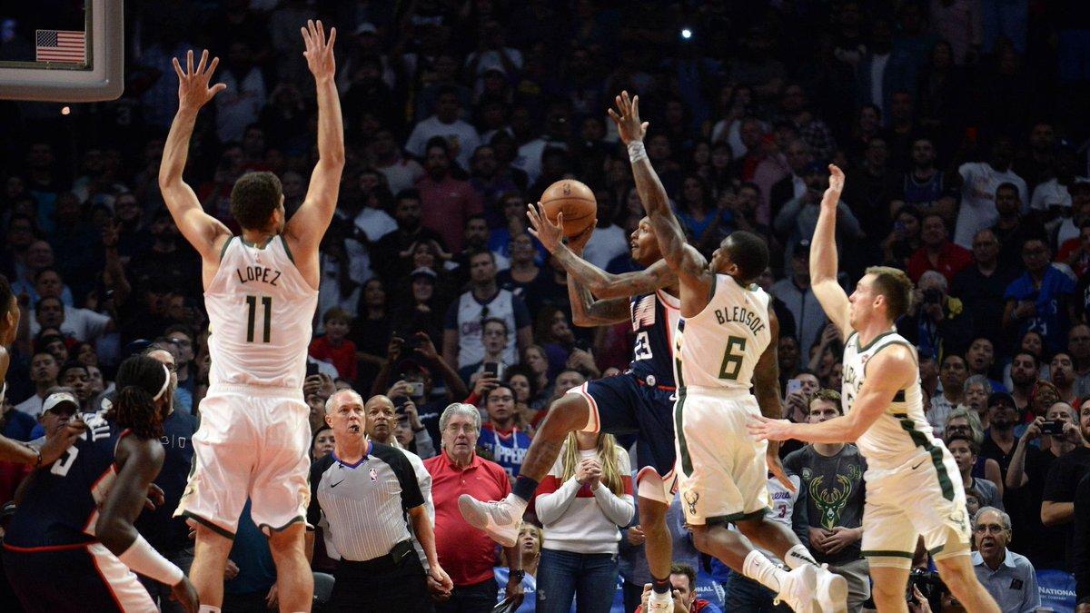 Canasto de Williams, Clippers superan en tiempo extra a los Bucks en la NBA