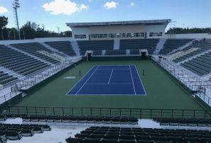 Concluye remodelación de las canchas de tenis del Parque del Este