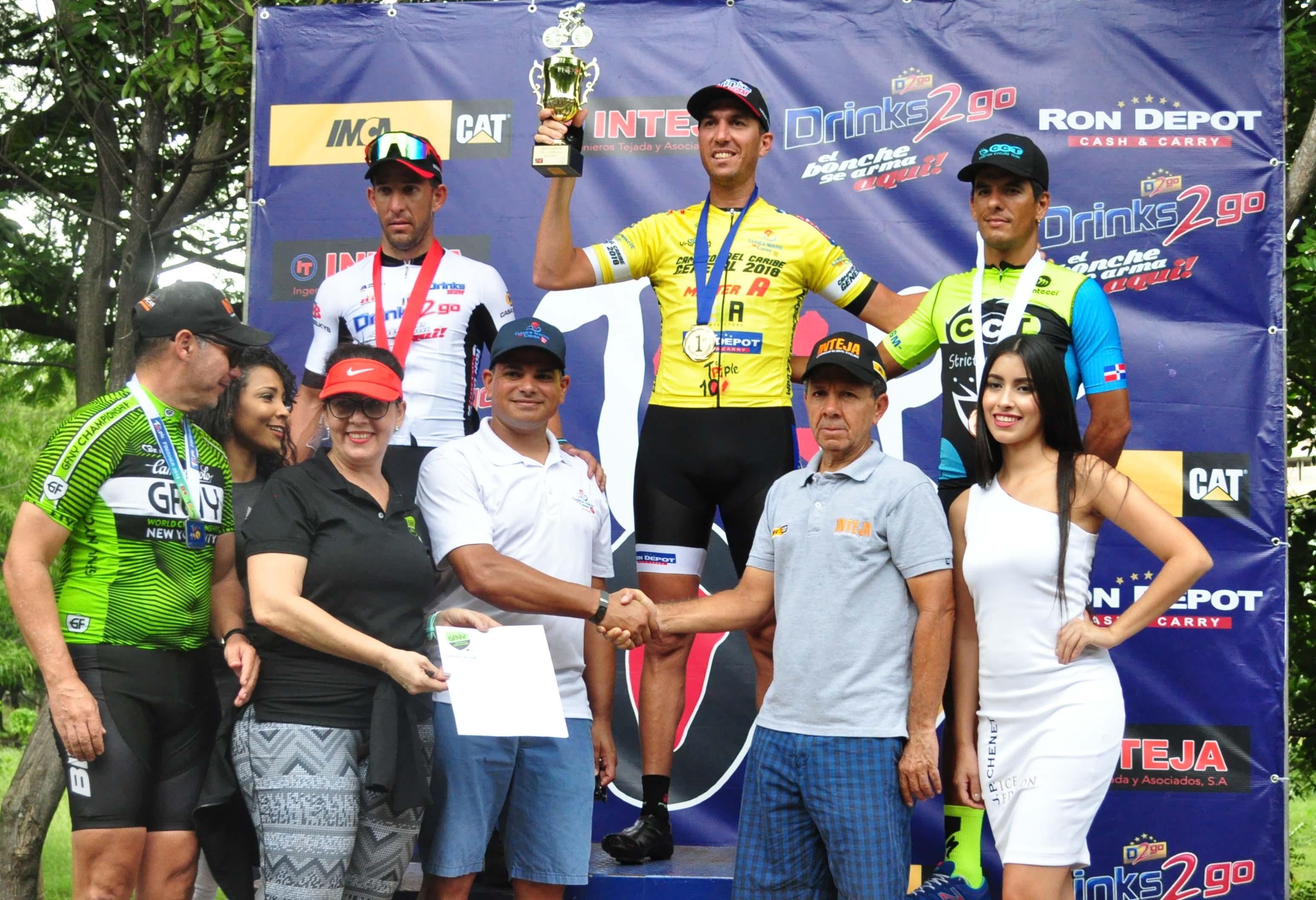 Nilsson Ruiz logra la tercera etapa del campeonato de Ciclismo Triple 100