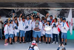 Equipo de Japón hace historia en el Junior Surfing Championship