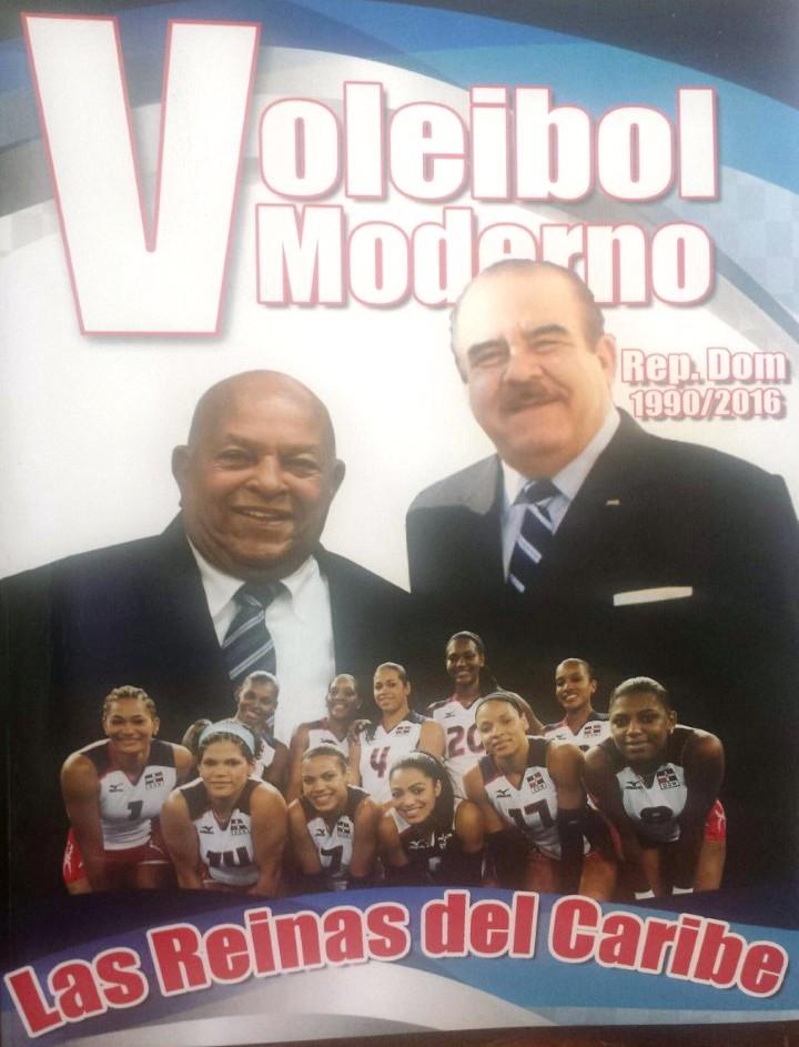 Periodista José Cáceres pone a circular este jueves libro de Voleibol de RD