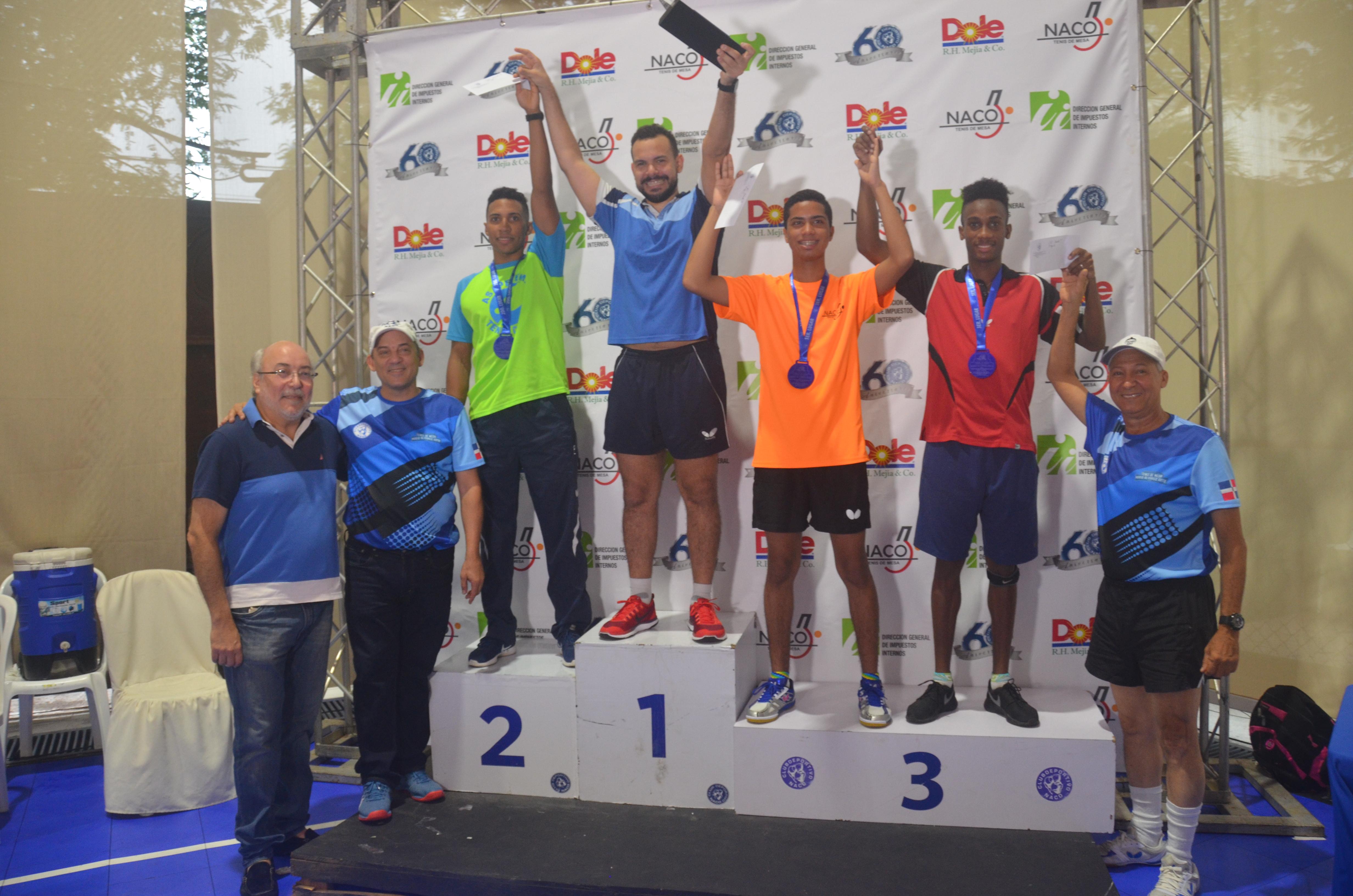 Emil Santos se corona campeón del V Clásico Mario Alvarez Soto