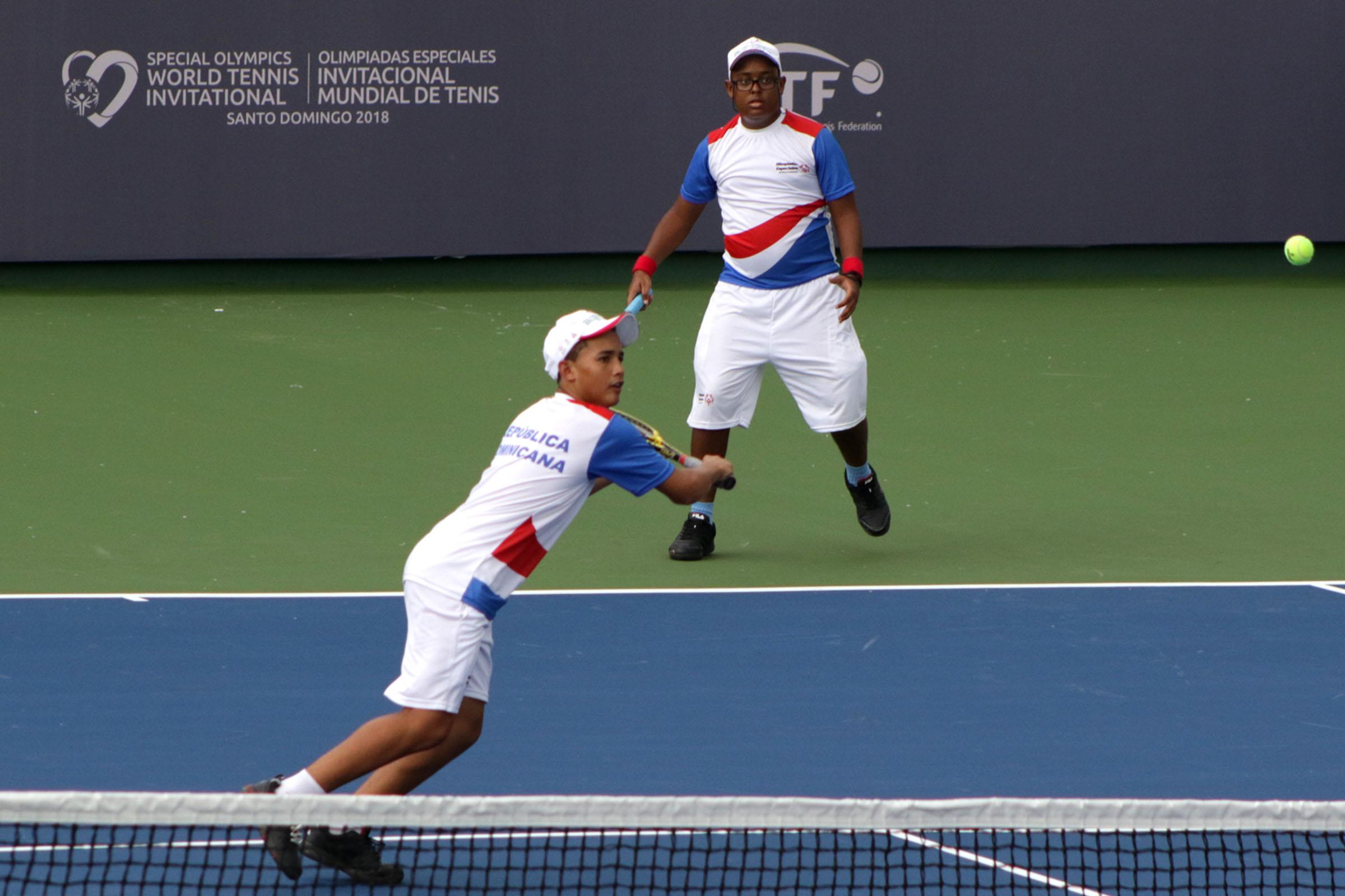 RD agregó dos medallas de Oro en el Invitacional Mundial de Tenis de Olimpiadas Especiales