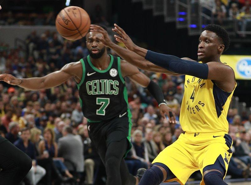 Oladipo le robó victoria a los Celtics y a Horford