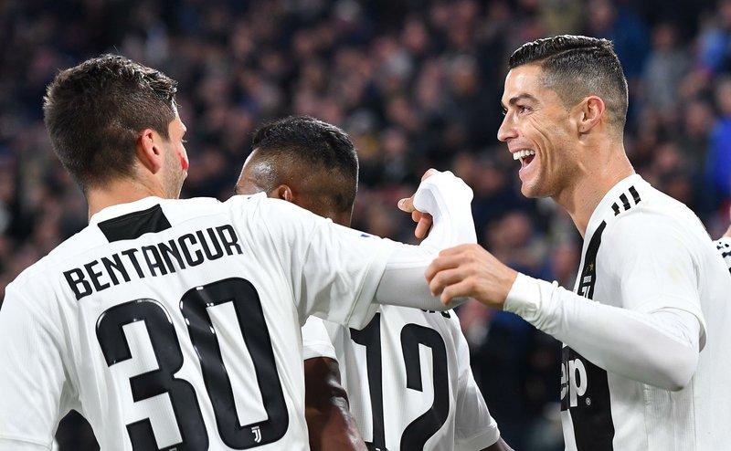 Cristiano anota en la victoria de la Juventus