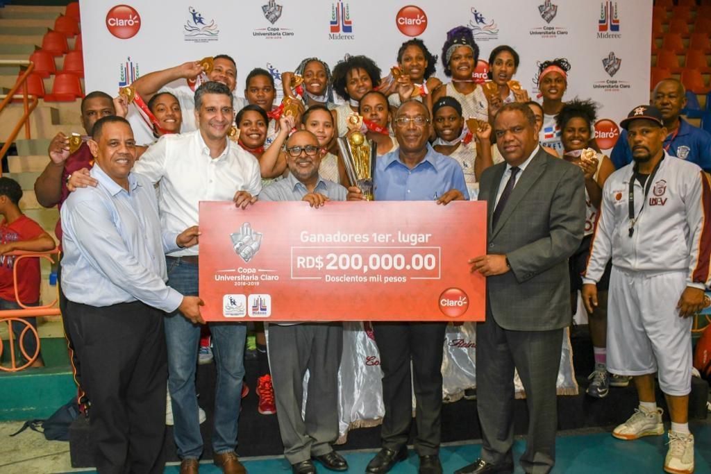 UNEV se coronó campeón femenino de la Copa Universitaria de Baloncesto