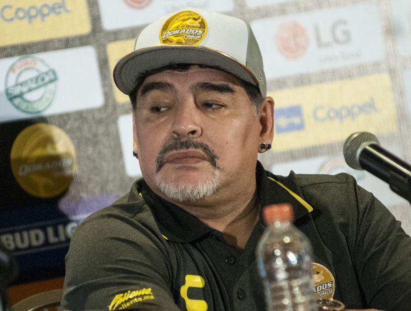 """Diego Maradona critica a la Conmebol: """"Son la lacra del fútbol"""""""