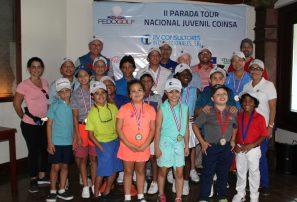 Kim y Rodríguez ganan segunda parada Tour Juvenil Copa COINSA