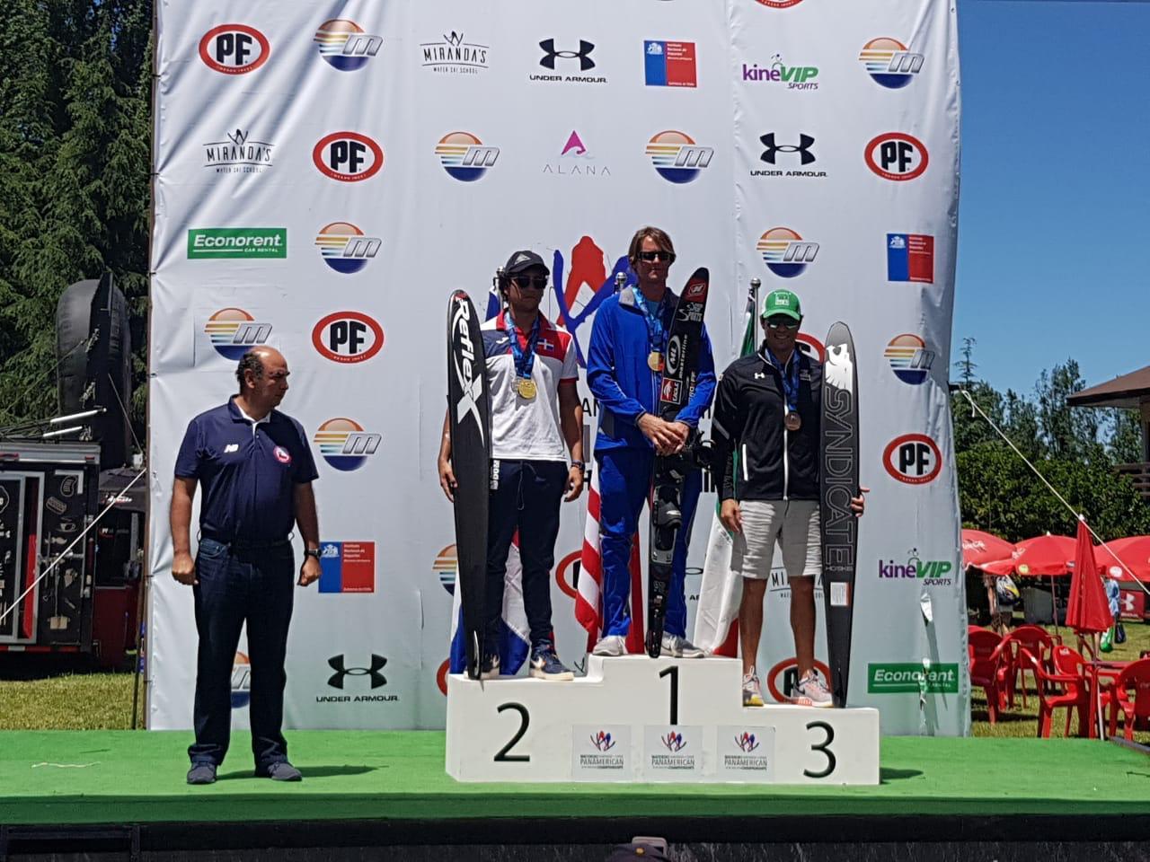 Esquiador Robert Pigozzi clasifica a Juegos Panamericanos Lima 2019