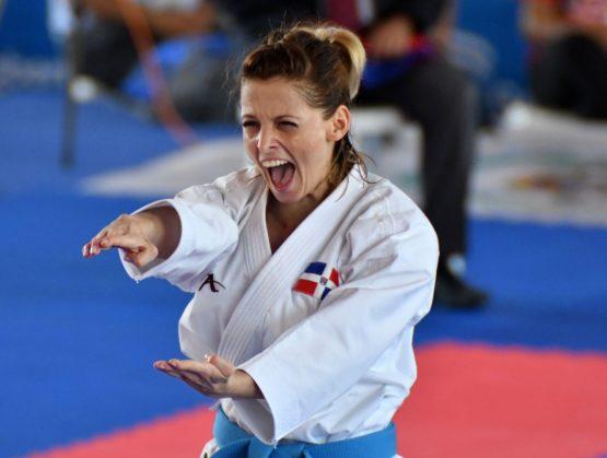 María Dimitrova disputará bronce el sábado en Mundial de Karate
