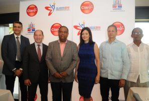 Juegos Nacionales contarán con el apoyo de la empresa Claro