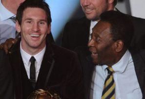 Messi solo es superado por Pelé como máximo goleador en un mismo club