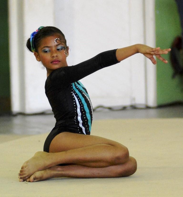 Santiago conquista torneo regional Norte gimnasia artística