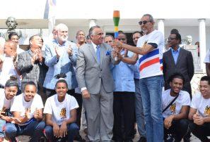 Antorcha Juegos Nacionales inicia recorrido desde el Comité Olímpico