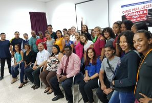 Fedogim capacita jueces para torneo gimnasia Juegos Nacionales