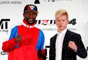 Floyd Mayweather pone reversa a 'pelea especial' ante artemarcialista en Japón
