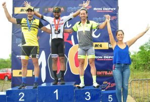 Edwin Morel conquista segunda etapa del campeonato de Ciclismo Triple 100