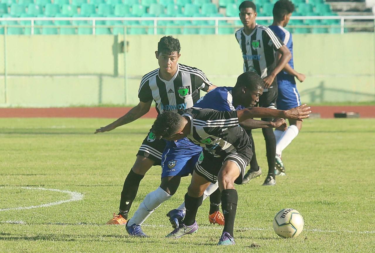 Jarabacoa FC, Salcedo y Bob FC suman triunfos en la serie B LDF