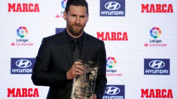 Lionel Messi conquista el Pichichi y el MVP en la Liga de España