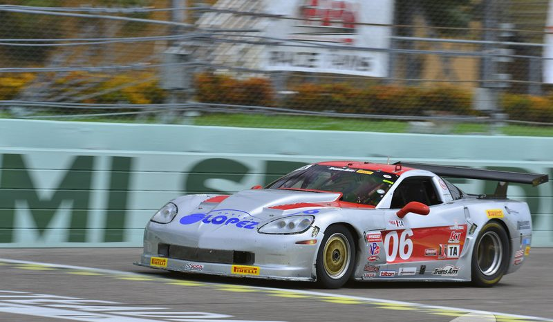 RJ López llega segundo en Overall en la Serie Trans Am de Daytona