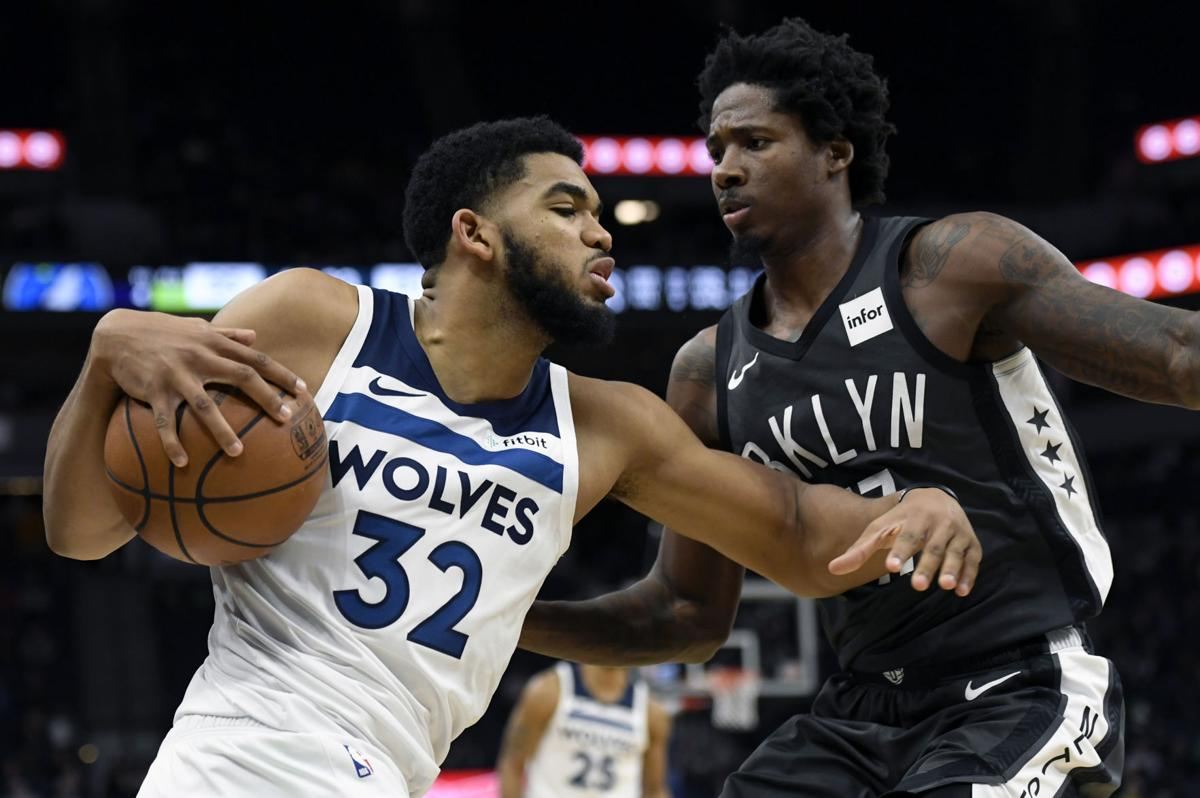 Karl-Anthony Towns lidera triunfo Timberwolves ante Nets