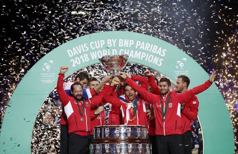 Cilic sella el triunfo de Croacia sobre Francia en Copa Davis