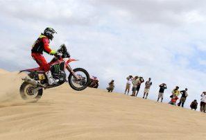 Barreda se mantiene líder del Dakar tras triunfo de Walkner