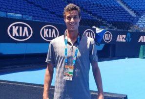Roberto Cid cae en su debut en el Open de Australia