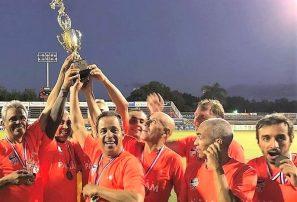 Veteranos del Cibao FC conquistan primeros torneos del año