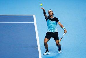 Rafael Nadal cambia la mecánica del saque en 2019