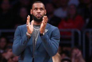 LeBron James se perderá dos partidos más debido a lesión en la ingle