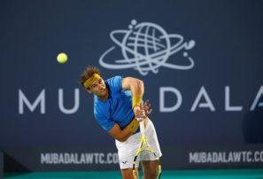 Rafael Nadal cae frente a Kyrgios en la exhibición de Sídney