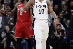 DeRozan se lució y Leonard fue abucheado en triunfo de Spurs contra Toronto