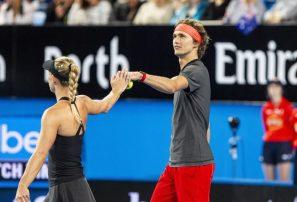 Zverev y Kerber llevan a Alemania a la final de la Copa Hopman
