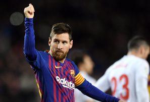 Messi anota su gol 400 en La Liga en la victoria del Barcelona