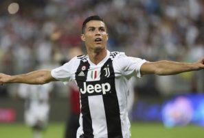 Cristiano le da la Supercopa de Italia al Juventus