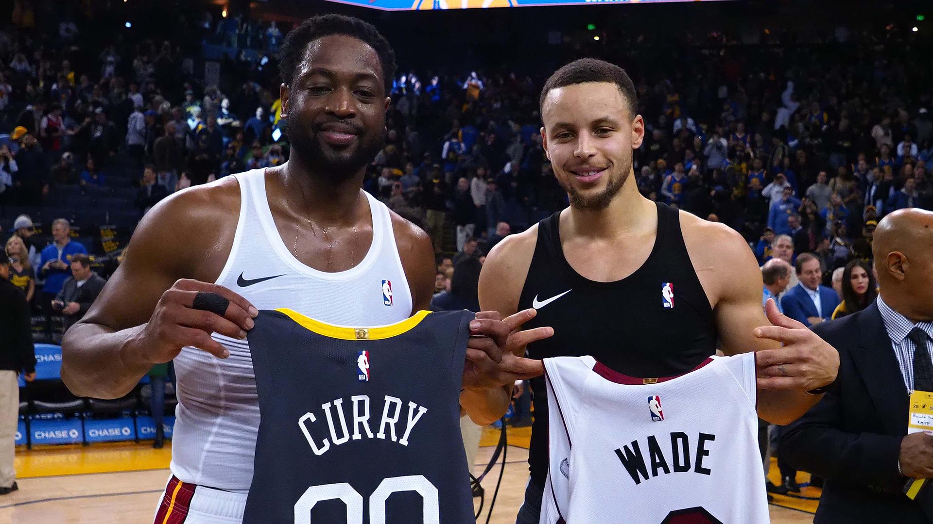 """Curry sobre Wade: """"Aún le queda gasolina para rato"""""""