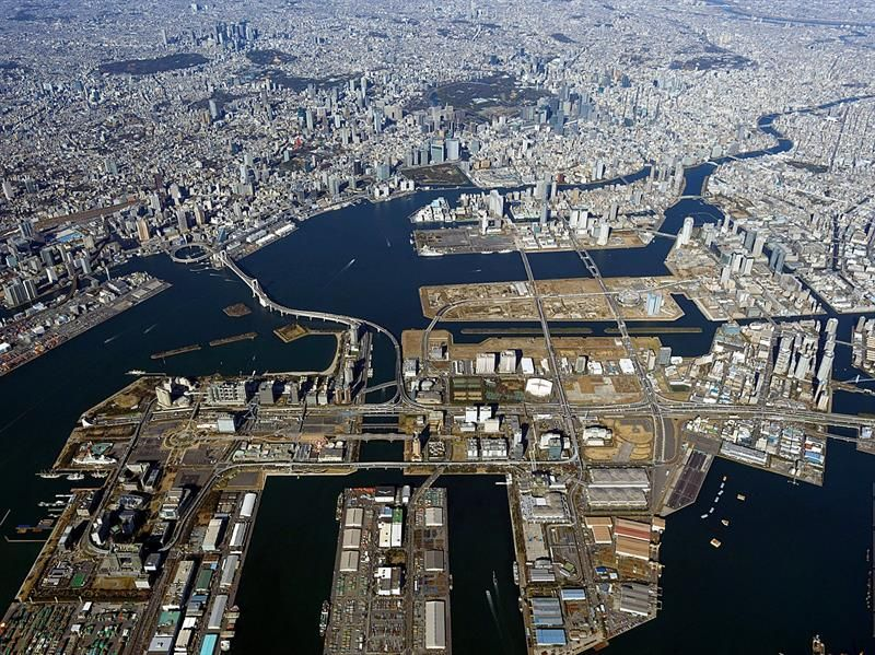 Una ciudad flotante, el nuevo rostro de Tokio para los JJ.OO. de 2020