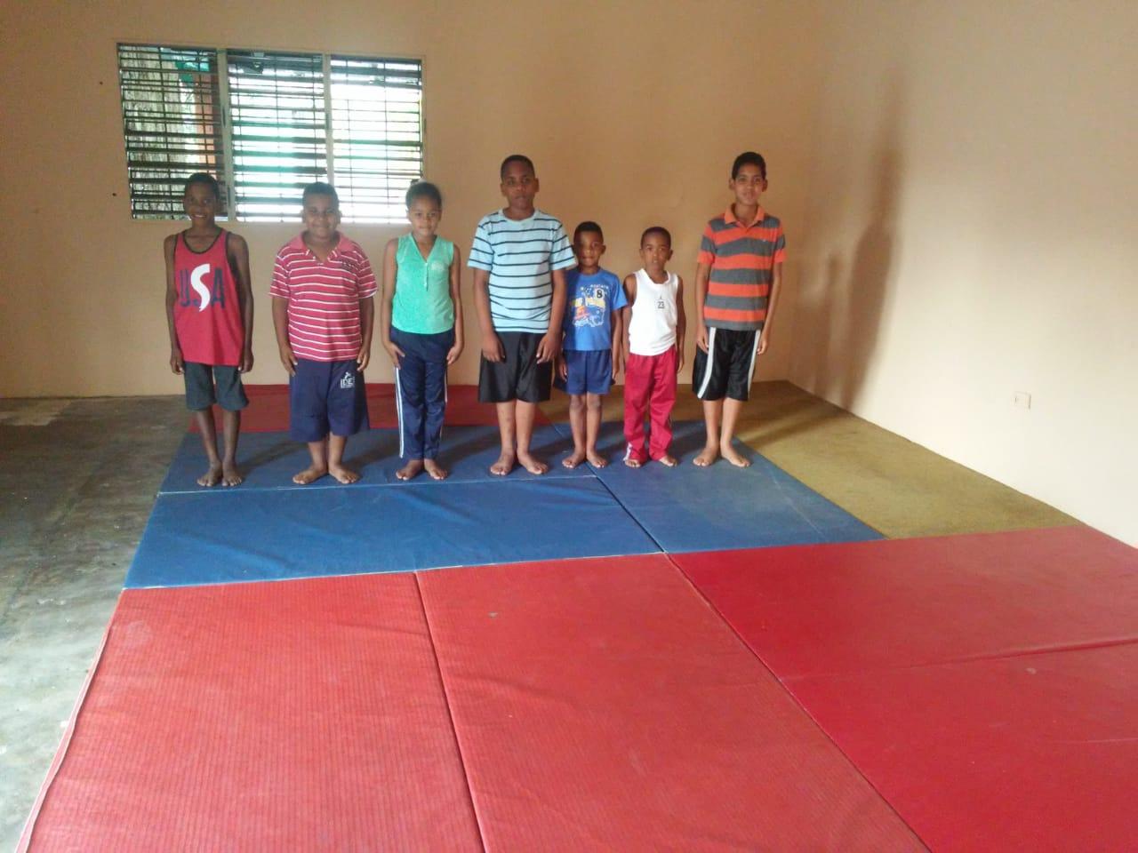 Fundación Podium y Valores auspicia apertura escuela de Judo