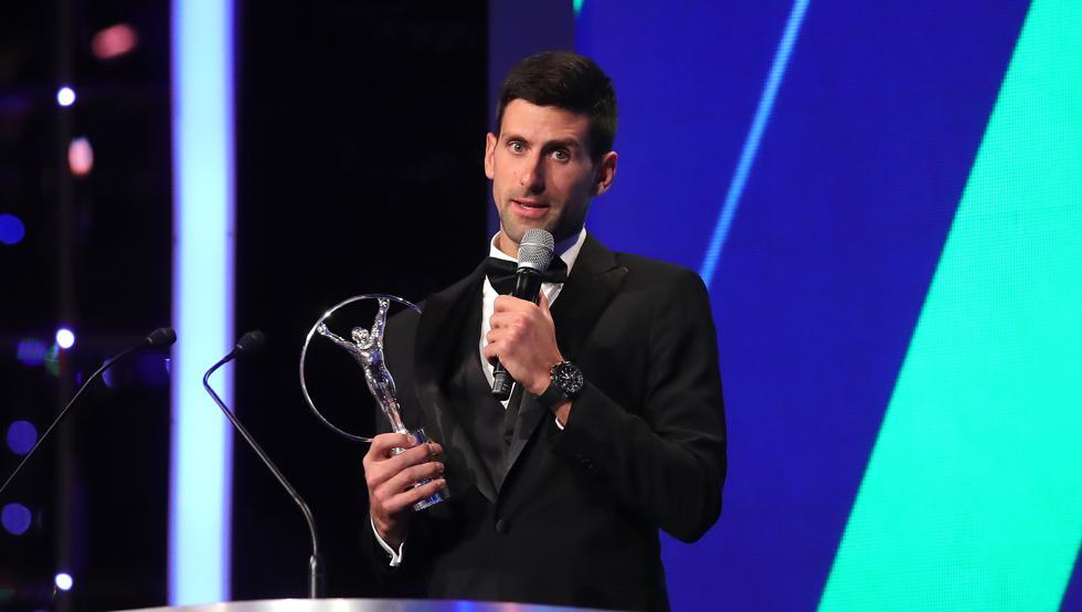 Djokovic y Biles ganan Laureus como los mejores deportistas del año