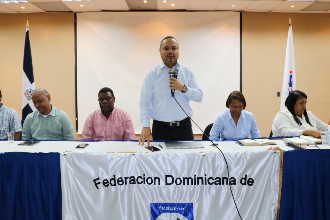 Federación de gimnasia presenta proyecto Panam Panamá 2022